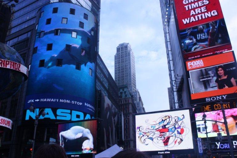 Frank Louis Allen Times Square