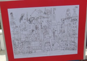 "Ikea ""Syance"" first art piece at age nine"
