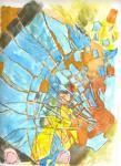 "Kimberly Gerry-Tucker ""Self-Portrait - Shattered"""