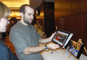 Noah shares his portfolio with Dani