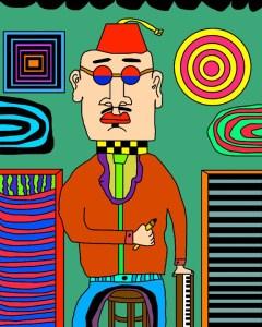 "James Frye ""Self-portrait of myself"""