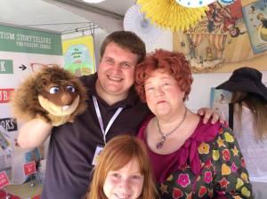 Jonathon at the Orange County Book Festival