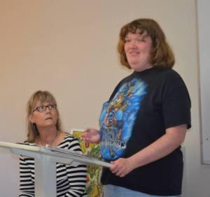 Danae and Jeremiah's director Linda