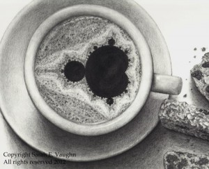 "Sarah E. Vaughn ""Endless Expresso"" Pencil"