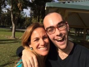 Denise and Keegan Longo