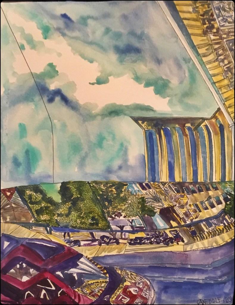 "Angela Weddle ""The City -Three Views"""