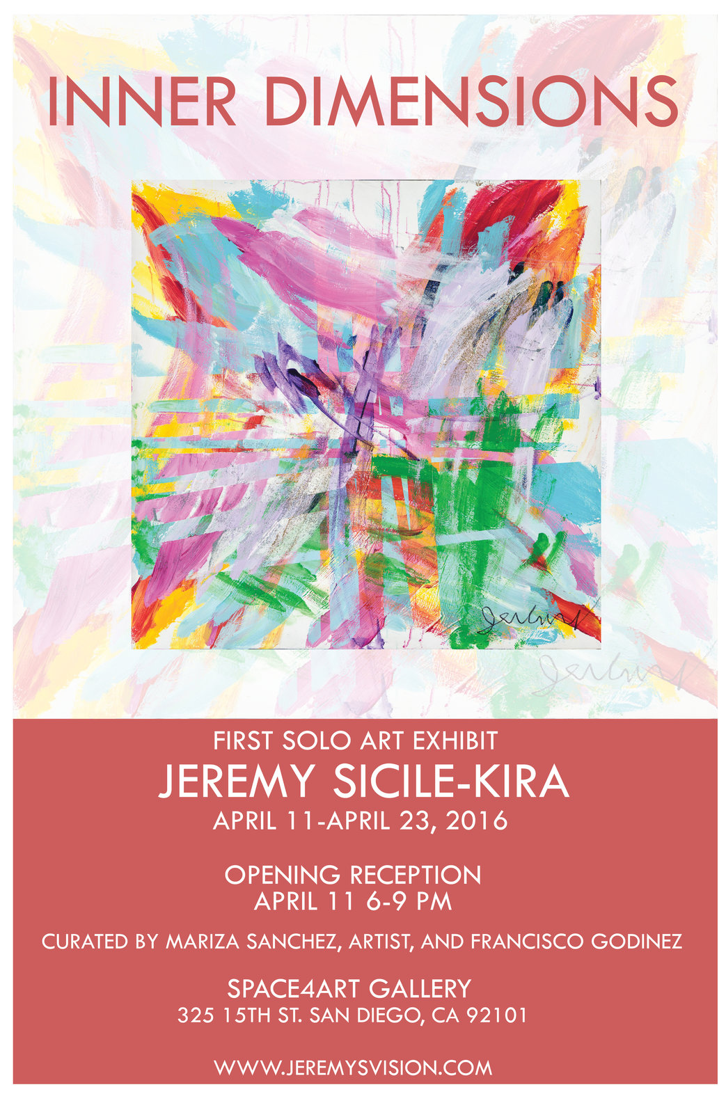 Jeremy Sicile-Kira an artist gifted with seeing people energy fields ...