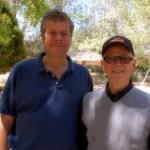 Jim Billington with Remo Belli