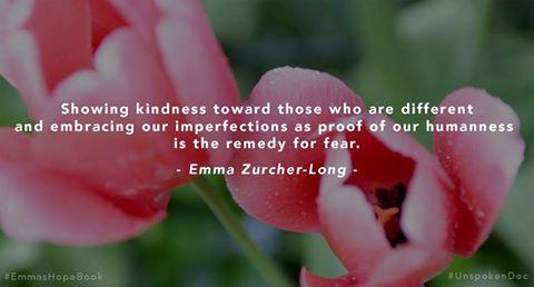 Emma Zurcher-Long Showing Kindness