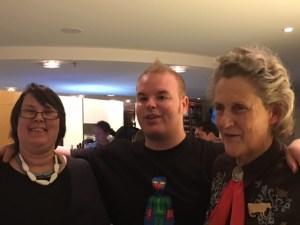 Jeanette Purkis Temple Grandin Tim Sharp