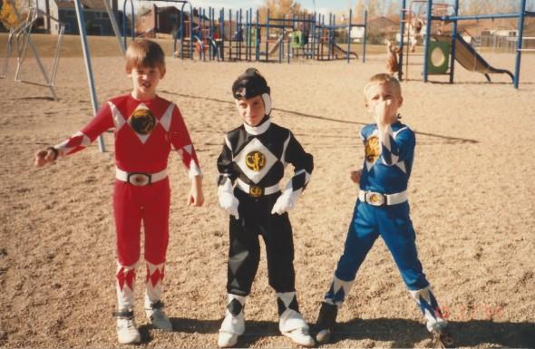 I was the Black Ranger