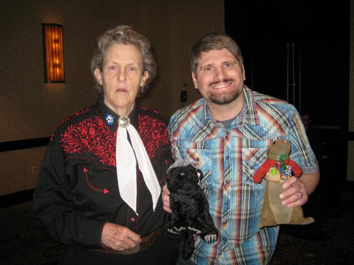 Temple Grandin to Autistic adults: get your butts out of the