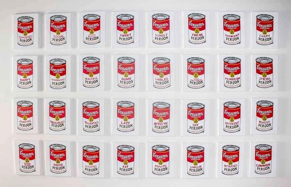 Consumer by Gabby Ledesma courtesy of Claraty Arts