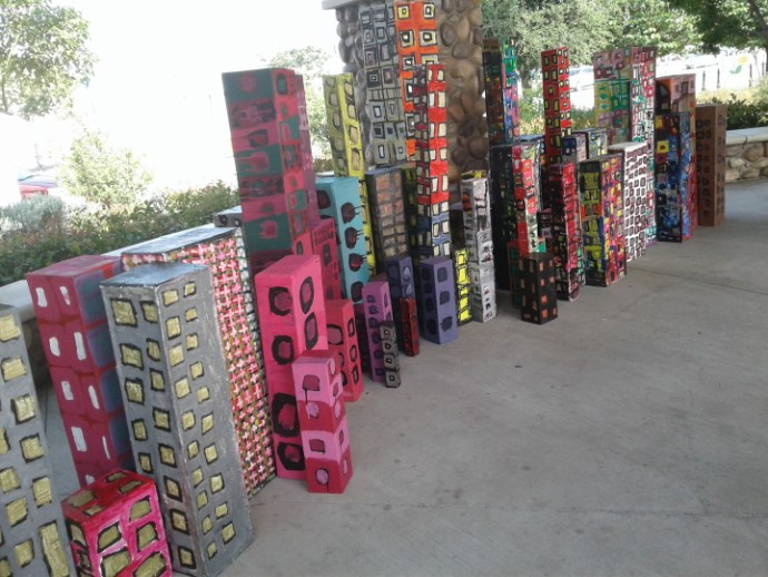 Dominguez High students created this city