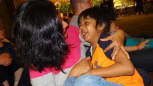 Tulika and her son