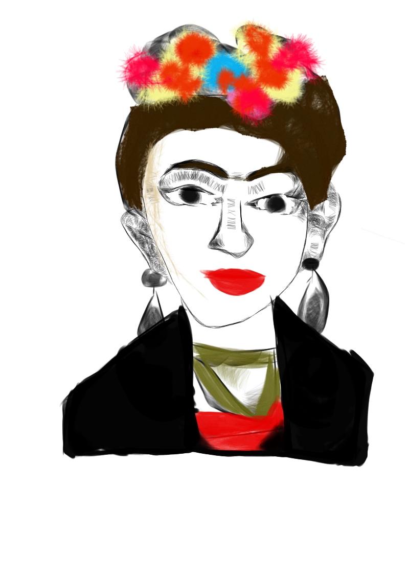"""Sofia Valentina """"Frida has a Little Smile"""""""
