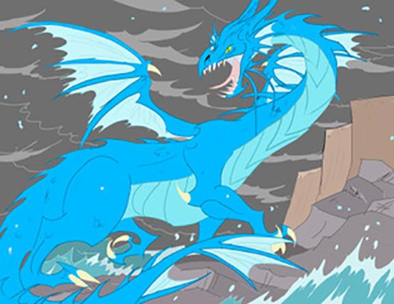 """Craig Hills """"Dragon"""""""