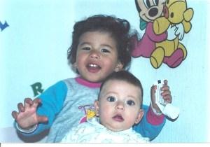 Daniela and sibling