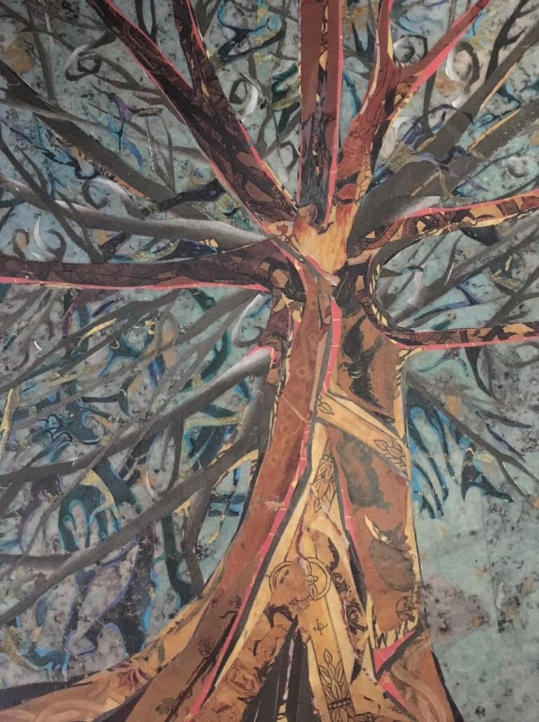 Kim Tucker Collage Tree