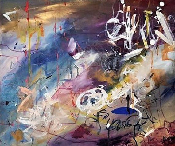 "Mahlia Amatina ""It oscillates and moves, unpredicatable"""