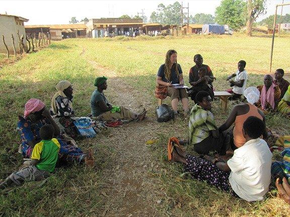 Kiziranfubi Village Savings & Loan Meeting
