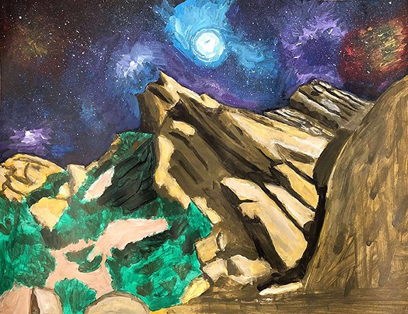 Max Lazebnik Galactic Rocks