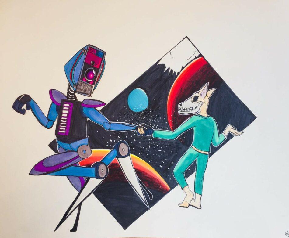 Valerie Casella Space Odyssey