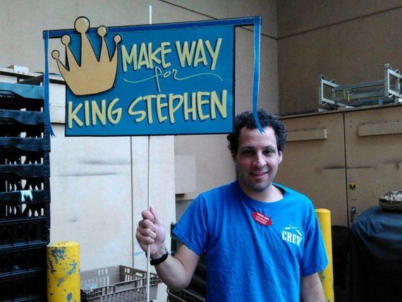 Stephen Gaiber at Trader Joes