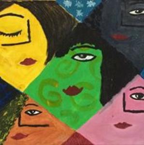 Lynda Lim Abstract Multiple Females