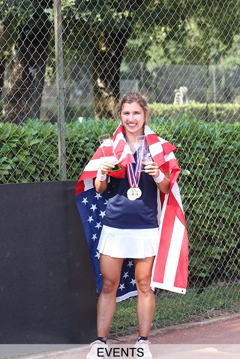 Brittany Tagliareni Special Olympics Gold Tennis
