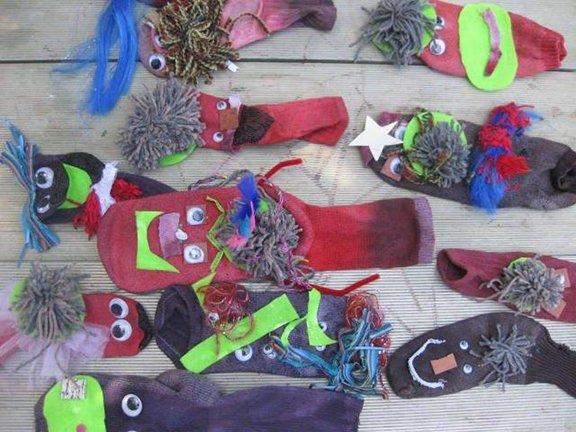 "Keri Bowers ""Peace Puppets"""