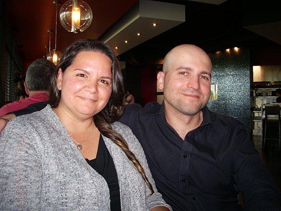Ryan Smoluk with Kristen Guy