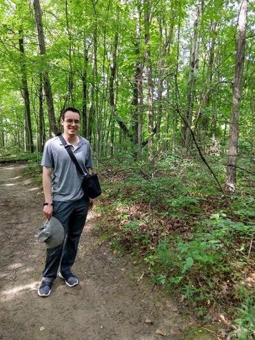 Malcolm Wang Hiking