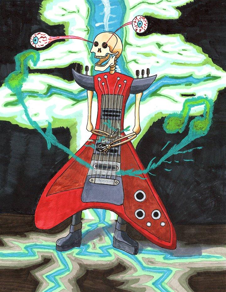 "Kyle Naversen ""Metal Reaper"""