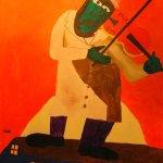 """Noah Schneider """"Fiddler"""""""