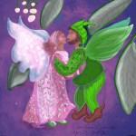 """CarolAnn Edscorn """"Mistletoe Embrace"""""""