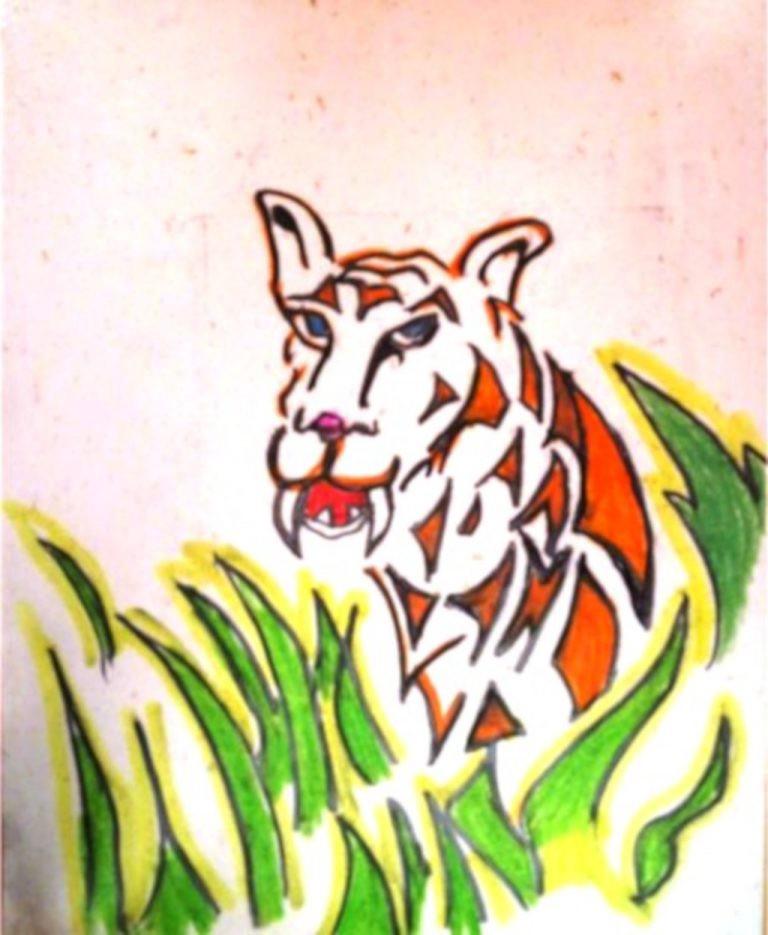 Gandhi's Tiger