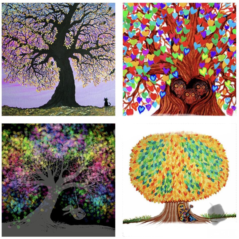 "Nick Gustafson ""4 Trees"""