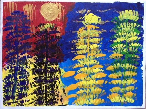 """Devansh """"Seasons of the Golden Moon"""""""
