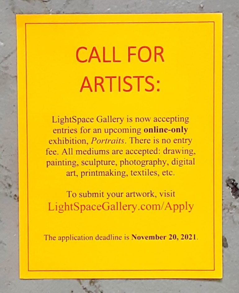 Lightspace Gallery Call for Art
