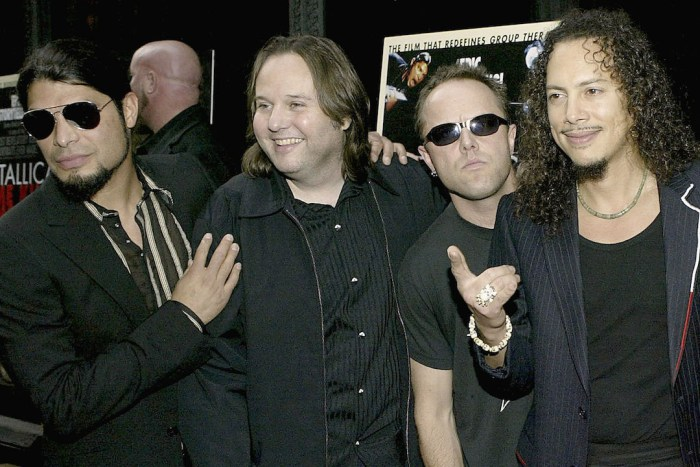 "Premiere Of ""Metallica: Some Kind Of Monster"""