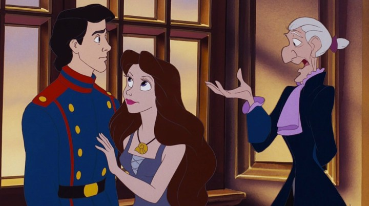 Grimsby-Talking-to-Eric-and-Vanessa-in-The-Little-Mermaid