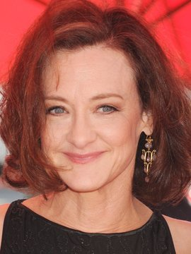 15 September 2013 - Los Angeles, California - Joan Cusack. 2013 Primetime Creative Arts Emmy Awards - Arrivals held at Nokia Theatre LA Live. Photo Credit: Byron Purvis/AdMedia