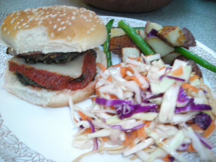 b-bean burger