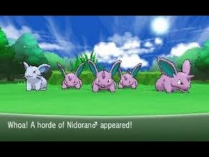 horde of nidoran