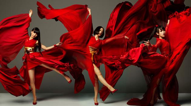 Perfume promoting the Video Music Awards Japan 2012