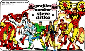 Ditko-DC-characters