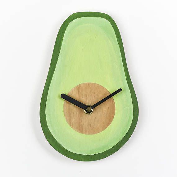 avocado clock