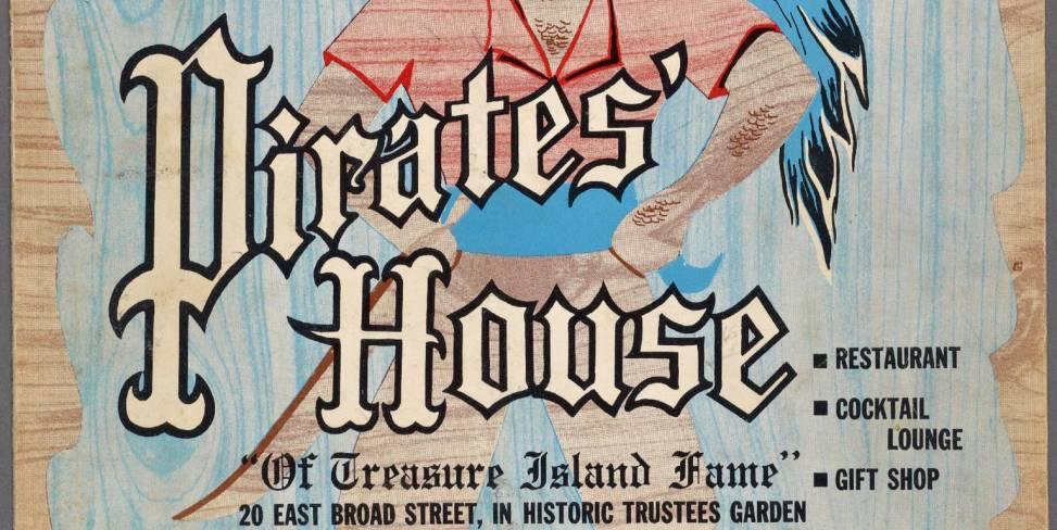 Let S Read An Old Menu Featuring The Pirates House Savannah Ga