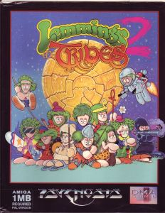 65987-lemmings-2-the-tribes-amiga-front-cover
